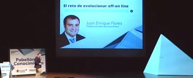 Juanen Flores en ponencia de Esden